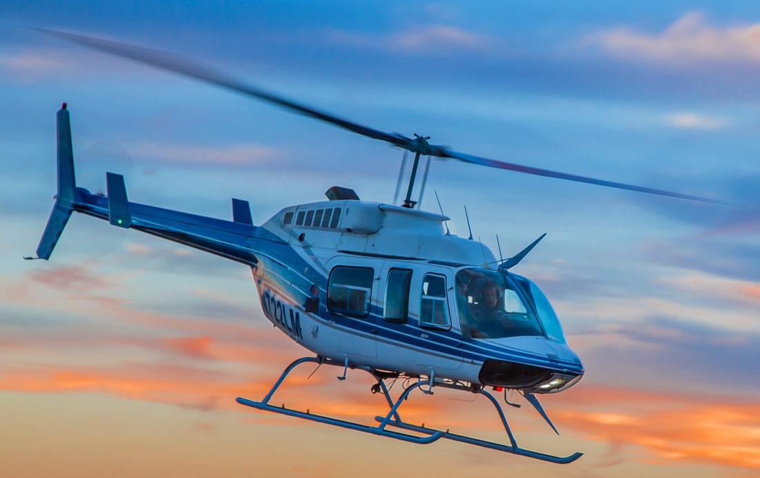 Bell-206-Jet-Ranger-flying
