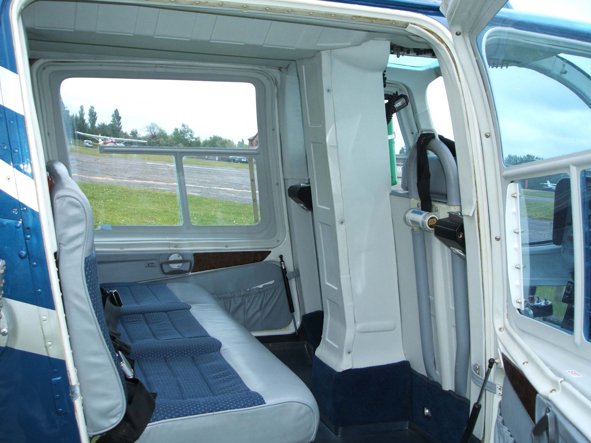 Used-1974-Bell-206-BII-Jet-Ranger-for-Sale-seat